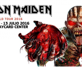 Iron Maiden – Madrid 2016 (Barclaycard Center)