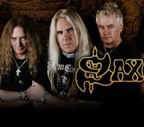 Saxon: Título de su nuevo disco
