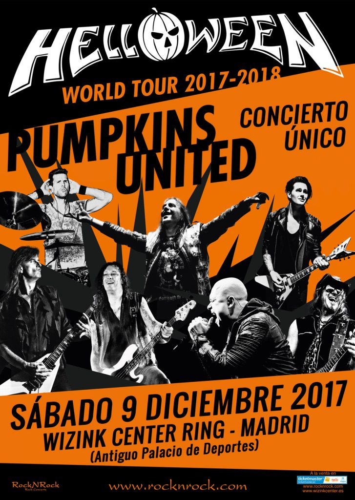 Helloween cartel Madrid