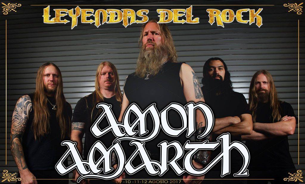 Amon Amarth Leyendas del Rock
