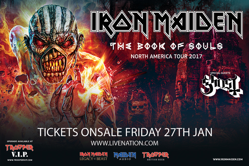Iron Maiden Ghost Tour