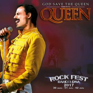 god save the queen rock fest barcelona