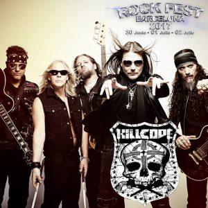 killcode rock fest barcelona