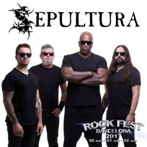 sepultura rock fest barcelona