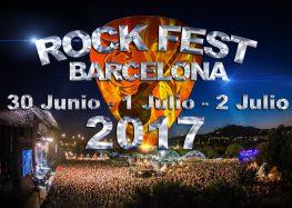 Rock Fest Bcn: Últimas confirmaciones y cartel definitivo