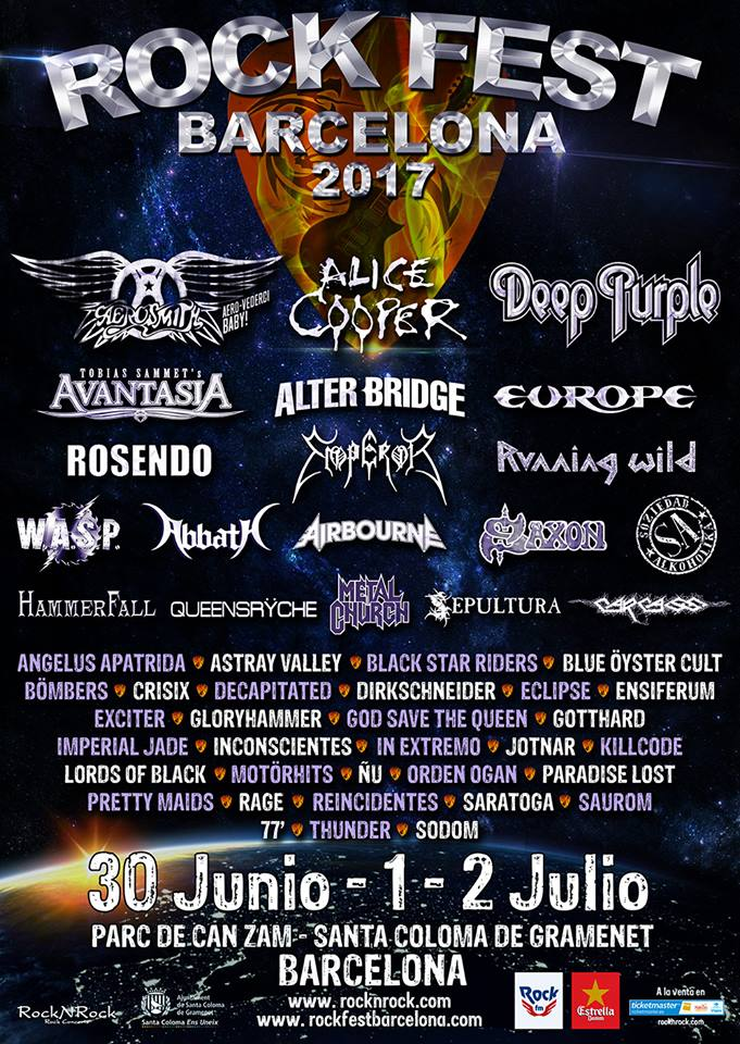 rock fest bcn cartel definitivo