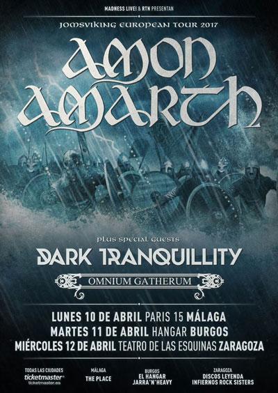 Amon Amarth en Zaragoza