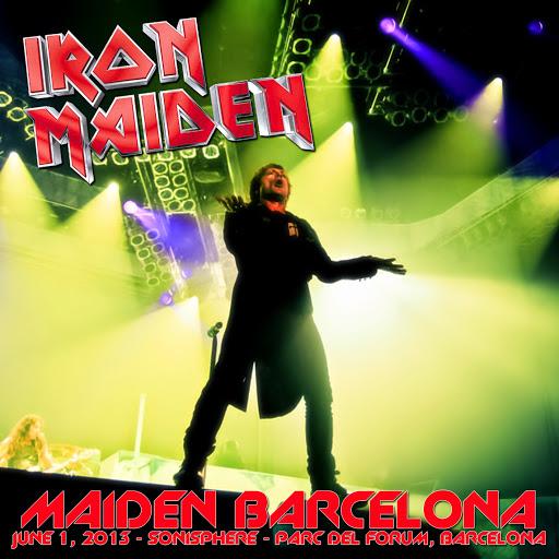 iron maiden bootleg barcelona 2013