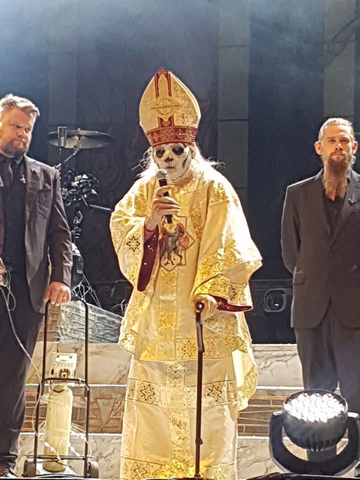 papa emeritus zero ghost