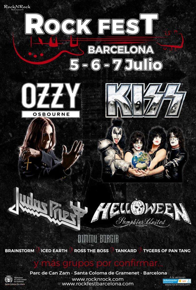 Cartel Rock Fest Barcelona 2018