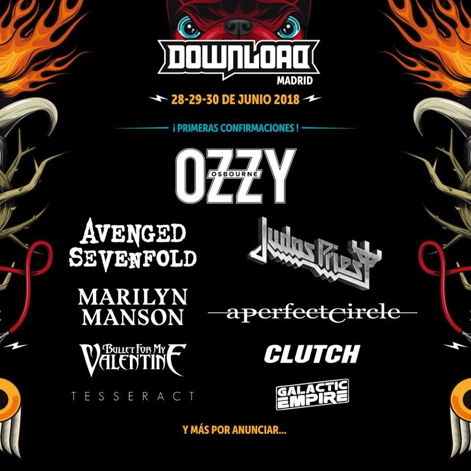 download festival madrid 2018 primeras confirmaciones