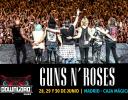 Guns N' Roses actuarán en el Download Festival Madrid 2018