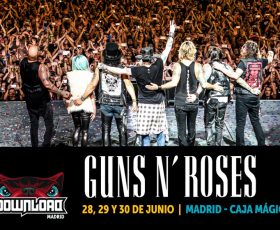 Guns N' Roses actuarán en el Download Festival Madrid 2018
