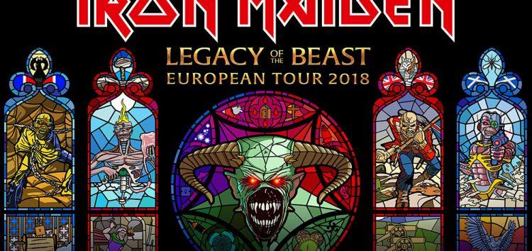 Iron Maiden en España en 2018