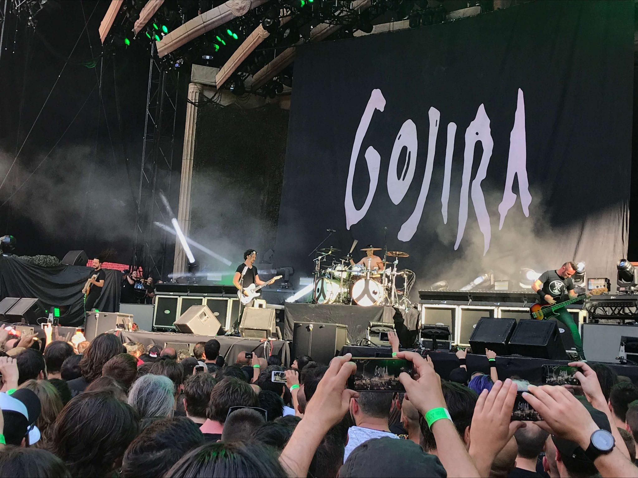Gojira en Madrid 2