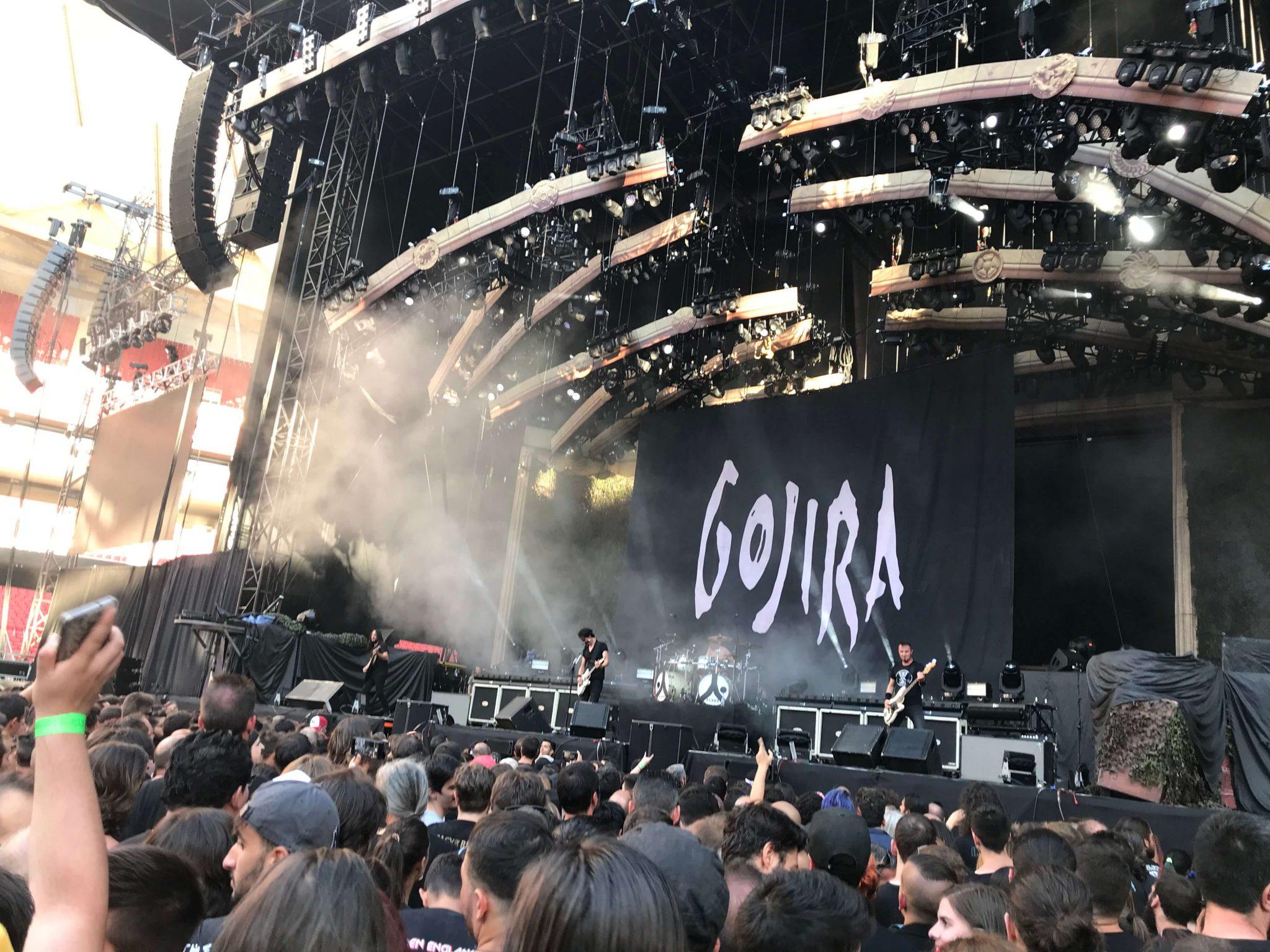 Gojira en Madrid 3