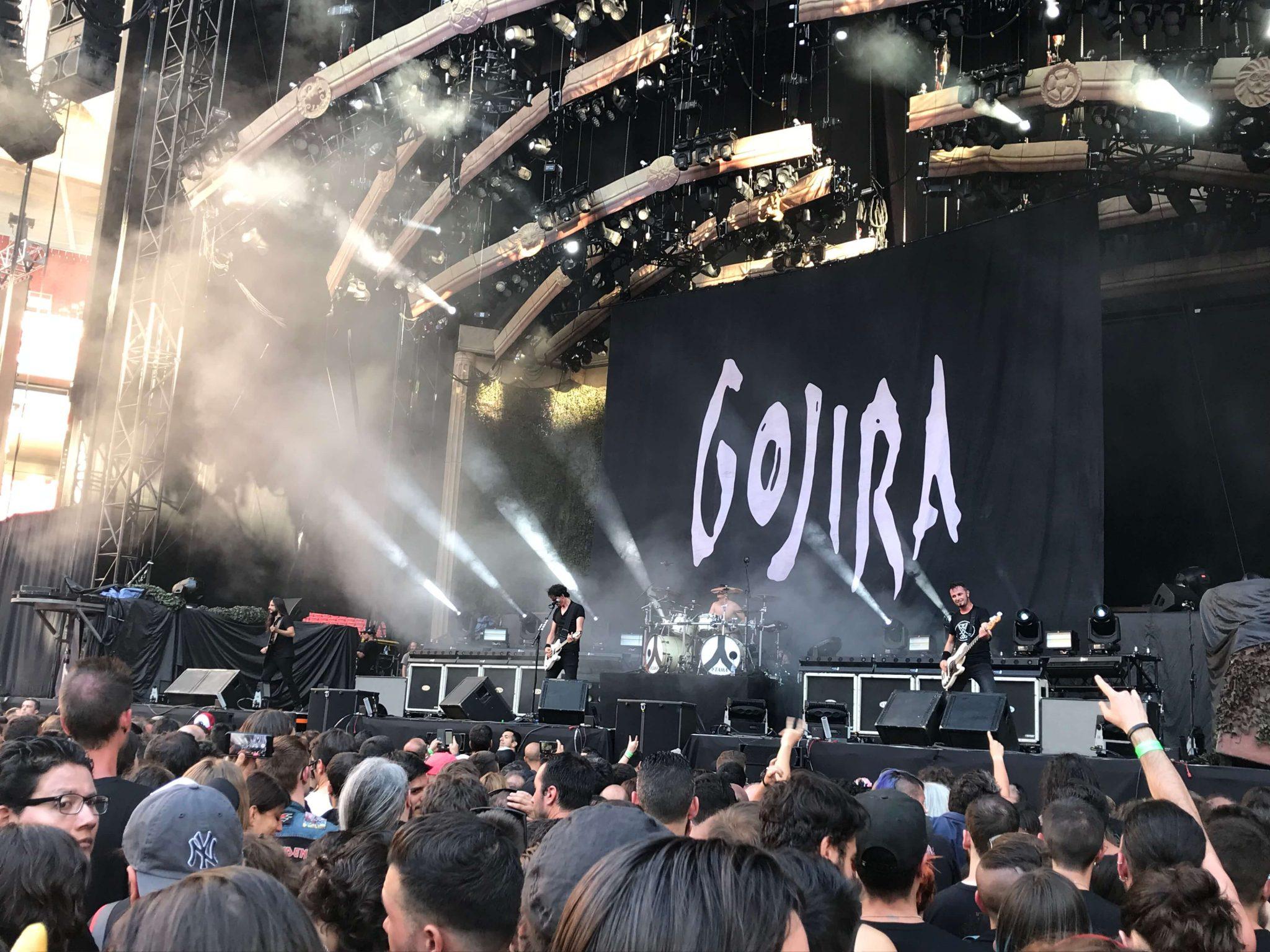 Gojira en Madrid 4
