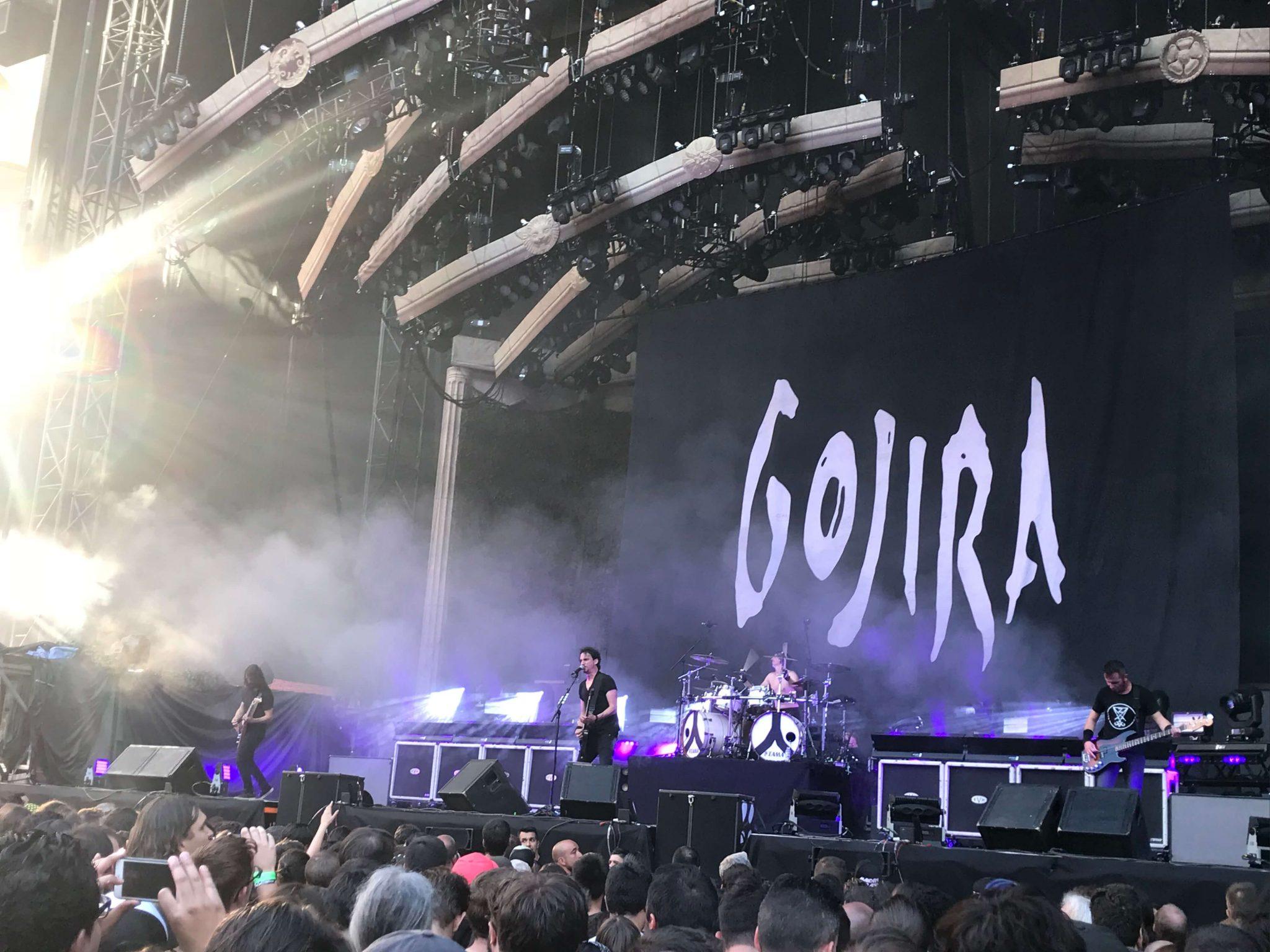 Gojira en Madrid 5
