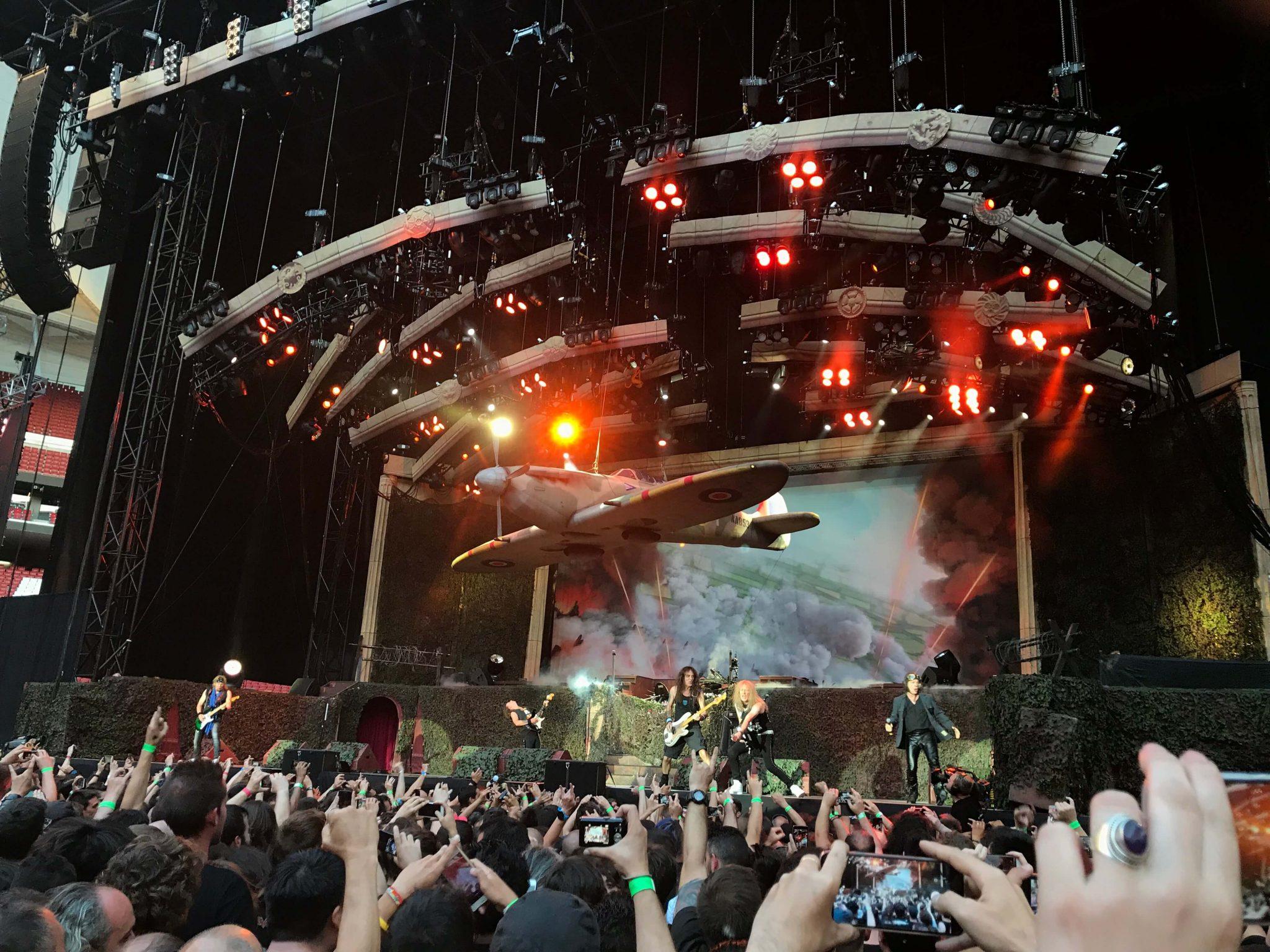 Iron Maiden en Madrid 1