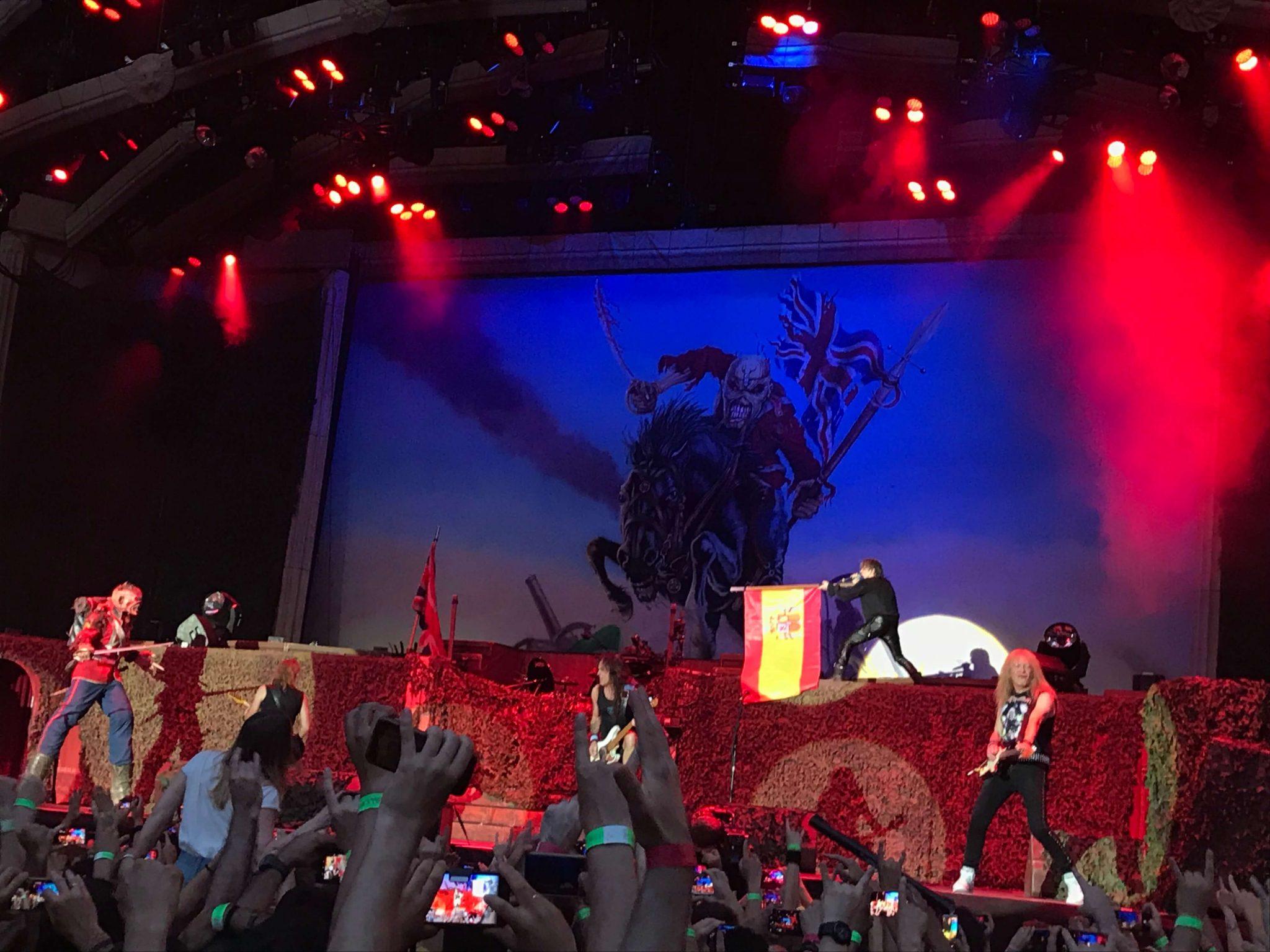 Iron Maiden en Madrid 14