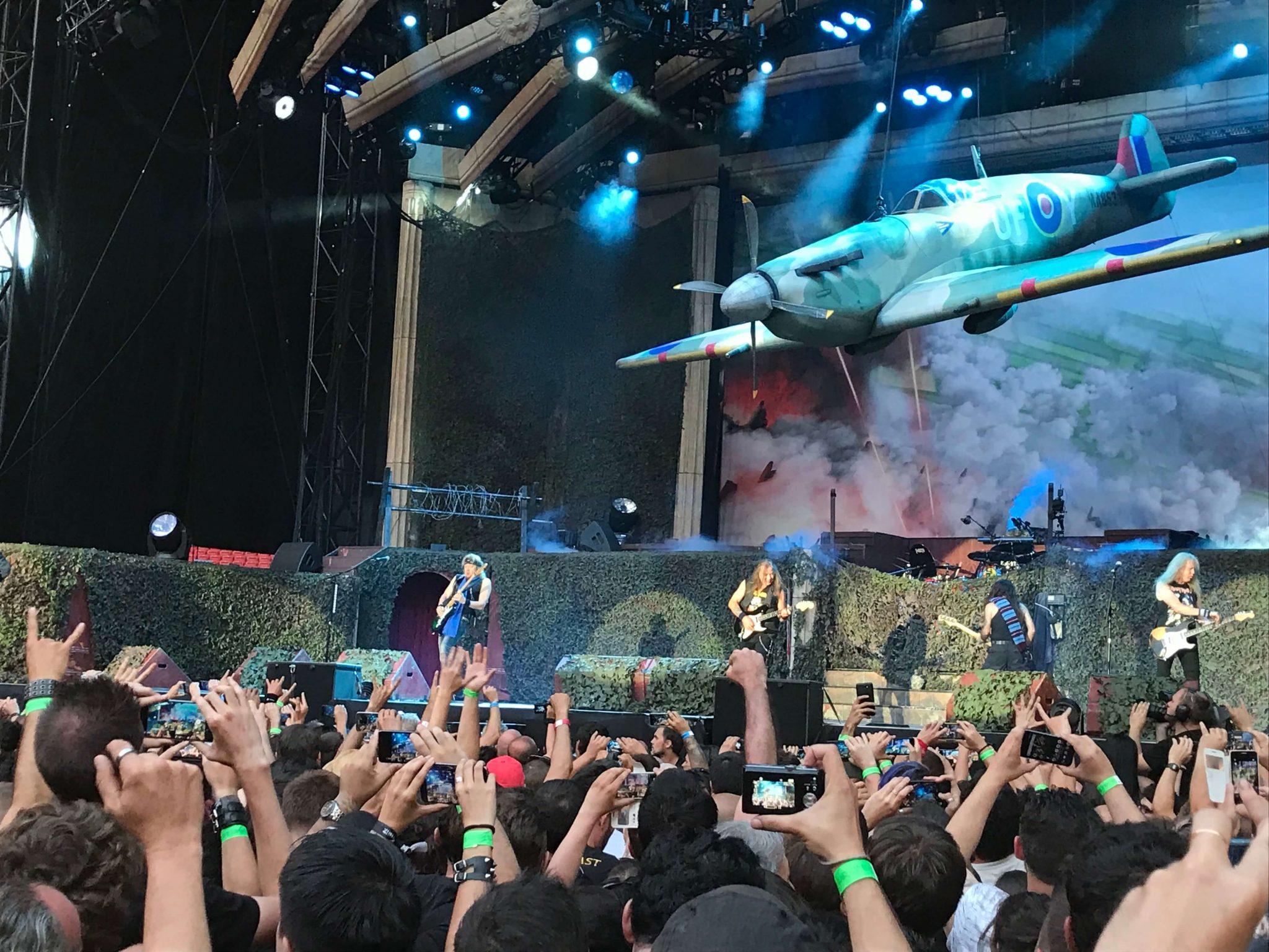 Iron Maiden en Madrid 2