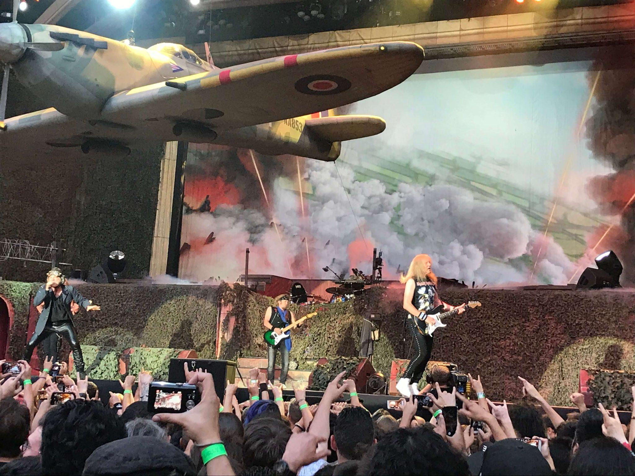 Iron Maiden en Madrid 3