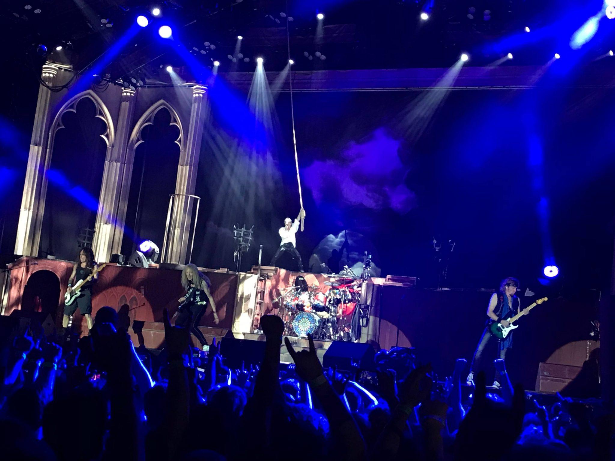 Iron Maiden en Madrid 40
