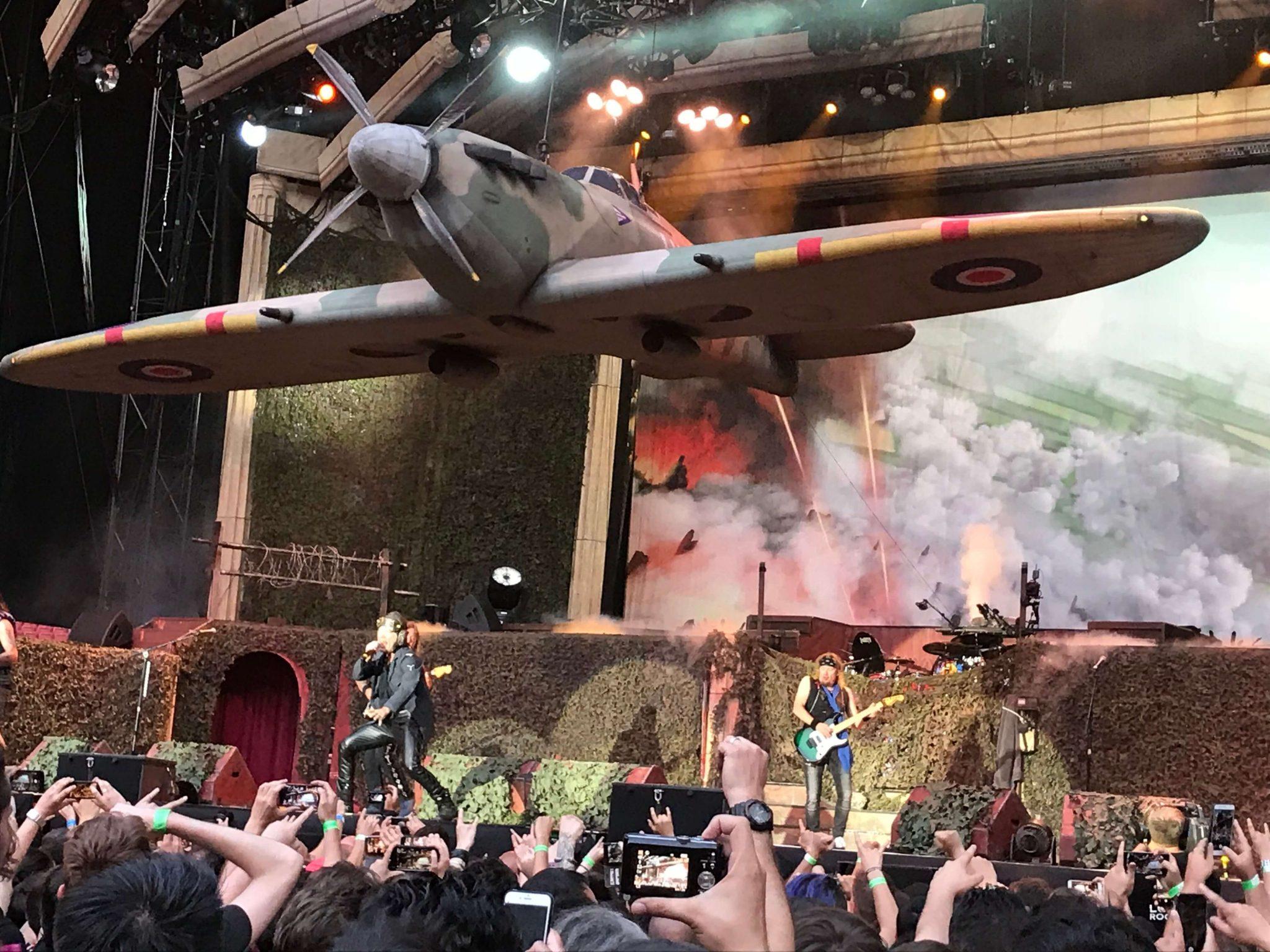 Iron Maiden en Madrid 4