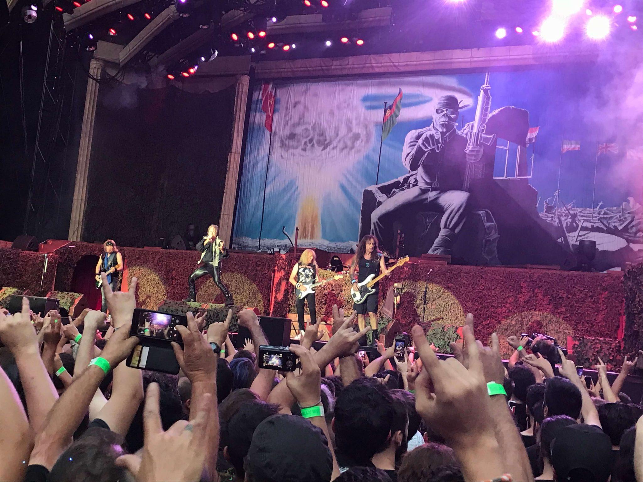 Iron Maiden en Madrid 7
