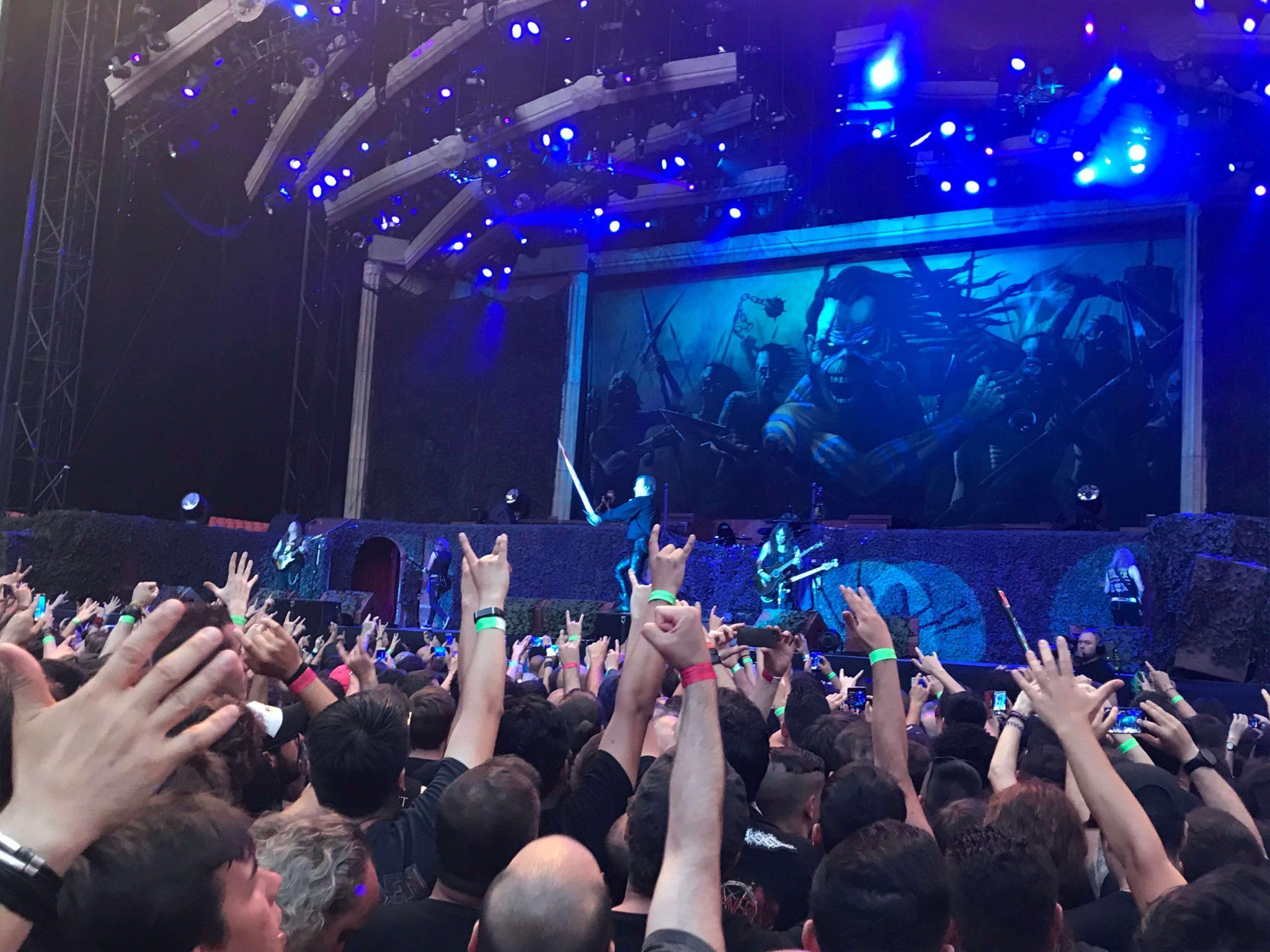 Iron Maiden en Madrid 9