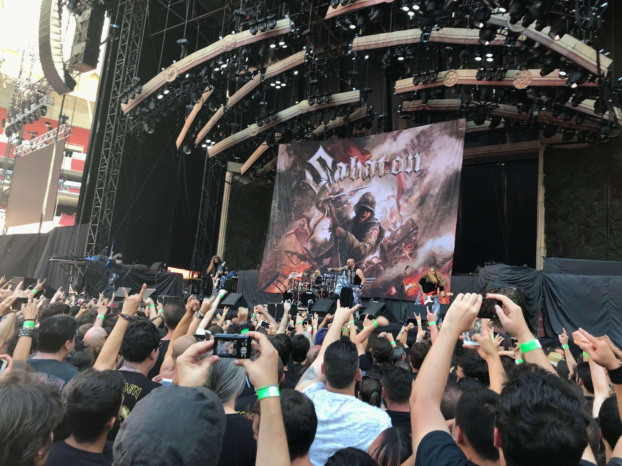 Sabaton en Madrid 1