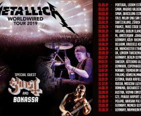 Metallica agotan las entradas de su concierto en Madrid
