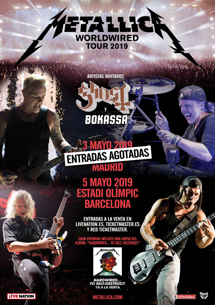 metallica sold out madrid
